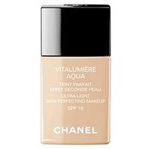 """Chanel Тональный крем """"Vitalumiere Aqua"""" 30.0 мл. № ВR40 (цвет: Beige Rose – Desert)."""