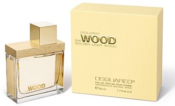 "Dsquared2 ""She Wood Golden Light Wood"" 30.0 мл. Туалетные духи."
