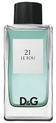 "Dolce ""21 Le Fou"" 100.0 мл. Туалетная вода - тестер."