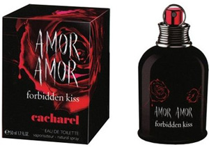 "Cacharel ""Amor Amor Forbidden Kiss"" 30.0 мл. Туалетная вода."