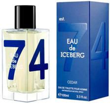 "Iceberg ""Eau de Iceberg 74 Cedar"" 100.0 мл. Туалетная вода."