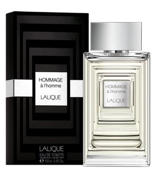 """Lalique """"Lalique Hommage a L`Homme"""" 100.0 мл. Туалетная вода - тестер."""