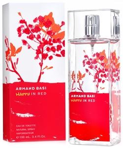 Женский парфюм Happy In Red 100.0 мл. Armand Basi. Туалетная вода. ( Armand Basi )