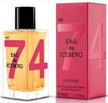 Женский парфюм Eau de Iceberg Wild Rose 100.0 мл. Iceberg. Туалетная вода. О де Айсберг Уайлд Роуз. ( Iceberg )