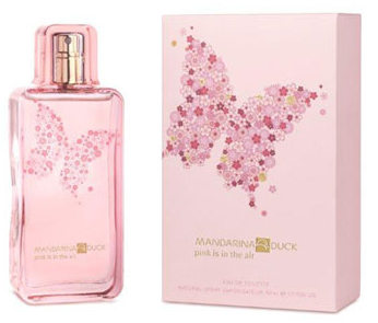 Женский парфюм Mandarina Duck Pink Is In the Air 50.0 мл. Mandarina Duck. Туалетная вода. ( Mandarina Duck )