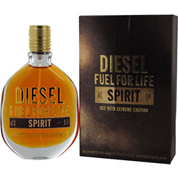 "Life ""Diesel Fuel For Life Spirit"" 75.0 мл. Туалетная вода - тестер."