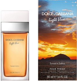 D&G Light Blue Sunset in Salina от Dolce & Gabbana (лайт Блю Сансет ин Салина от Дольче энд Габбана)