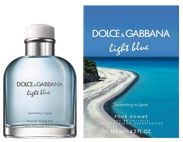 D&G Light Blue Swimming in Lipari pour homme от Dolce & Gabbana (Лайт Блю Свимминг ин Липари от Дольче энд Габбана)