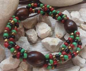 """Браслет """"Клеопатра ДО-4"""" (цвет: зеленый, бордовый, черный, медный, коричневый). ( S&L )"""