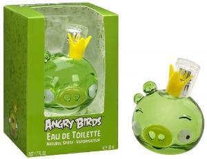 Женский парфюм King Pig Набор3пр. (туалетные духи 50 мл., туалетные духи Red Bird 5 мл., брелок). Angry Birds. ( Angry Birds )