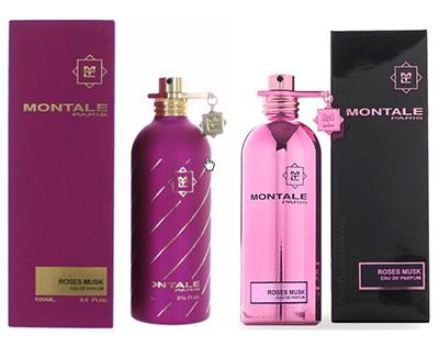 Montale Женский парфюм Roses Musk 100.0 мл. Montale. Туалетные духи. Розес маск.