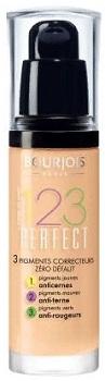 """Тональный крем """"Bourjois 123 Perfect"""" 30.0 мл. № 51 (цвет: Light vanilla). ( Bourjois Paris )"""