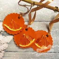 """Мыло ручной работы """"Сочный апельсин"""" 15.0 г. . ( Edenicsoap )"""