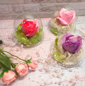 """Мыло ручной работы """"Голландская роза """" 100.0 г. . ( myloru )"""