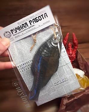 """Мыло ручной работы """"Рыбка к пиву"""" . ( myloru )"""