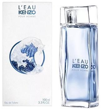 Мужской парфюм L`eau  Kenzo pour homme 2020 5.0 мл. Kenzo. Миниатюра-туалетная вода. Ле пар Кензо в дизайне 2020 года. ( Kenzo )